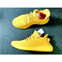 Adidas  350 Yeezy Boost Sneakers Fresh Yellow