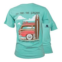 Southern Couture Preppy Find the Sunshine Comfort Colors T-Shirt