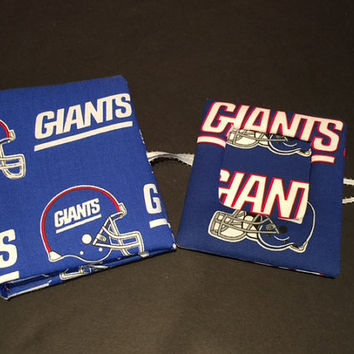 New York Giants Photo Album, Picture Frame Magnet and Bookmark Combo