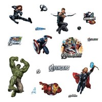 RoomMates RMK1741SCS Avengers Peel and Stick Wall Decals $10.15