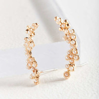 Pearl Climber Earring   Urban Outfitters