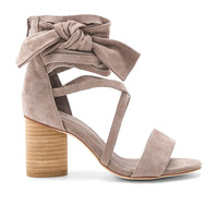 Jeffrey Campbell Destini Sandals in Taupe Suede