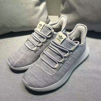 """""""Adidas"""" Women Yeezy Boost Sneakers Running Sports Shoes gray"""
