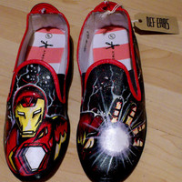 Ironman Hand Painted Pumps