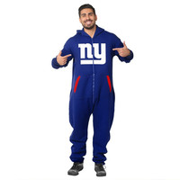 New York Giants Adult One Piece KLEW Sport Suit Sizes XS-XL w/ Priority Shipping