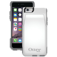 """Otterbox Iphone 6 4.7"""" Commuter Series Wallet Case (white And Gray)"""
