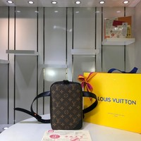 LV Louis Vuitton MONOGRAM CANVAS GERONIMOS CHEST BAG CROSS BODY BAG