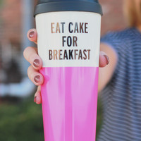 Kate Spade New York Thermal Mug - Eat Cake
