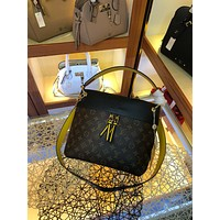 LV Louis Vuitton MONOGRAM CANVAS TUILERIES BESACE HANDBAG SHOULDER BAG