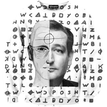 Ted Cruz The Zodiac Killer Crewneck