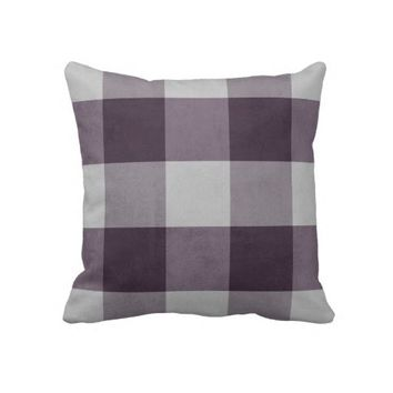 Vintage Check Pillow from Zazzle.com