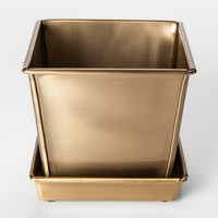 Brass Planter Pot Small - Smith & Hawken™