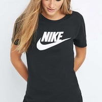 Nike Futura Icon Black T-shirt - Urban Outfitters