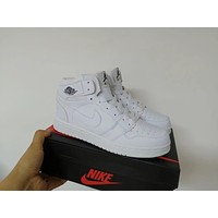 """Nike"" Unisex Casual Fashion High Help Breathable Plate Shoes Couple Basketball Shoes Sneakers"