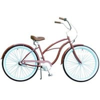 Sixthreezero Bikes Women's Brick n' Blue 3 Speed Cruiser
