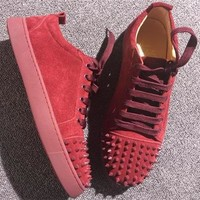 Cl Christian Louboutin Low Style #2072 Sneakers Fashion Shoes