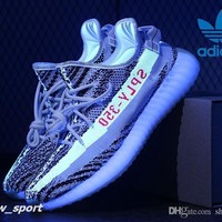Adidas Yeezy 350 Boost V2 Zebra Cp9654 Sply 350 Men Women Running Shoes Sport Yezzy 35