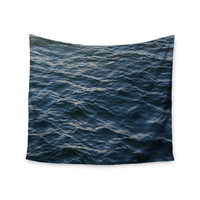 "Suzanne Carter ""Deep Water"" Nautical Blue Wall Tapestry"