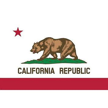 CALIFORNIA REPUBLIC bear and star OFFICIAL poster HISTORIC collectors 24X36