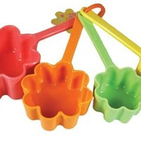 DCI Flower Measuring Cups, Set of 4