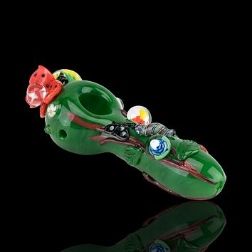 Empire Glassworks Garden Critters Pipe - Small