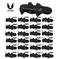 4 pcs High Quality PVC Decal Skin Custom For Playstation 4 LED Light Bar Decal Sticker for PS4 Dualshock Controller Hot selling