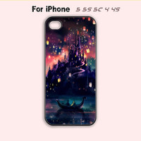 Disney,Tangled,Castle,iPhone 5 case,iPhone 5C Case,iPhone 5S Case,iPhone 4 Case, iPhone 4S Case,Samsung Galaxy S3, Samsung Galaxy S4