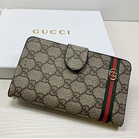 GUCCI Women Leather Print High Quality Cell phone sets