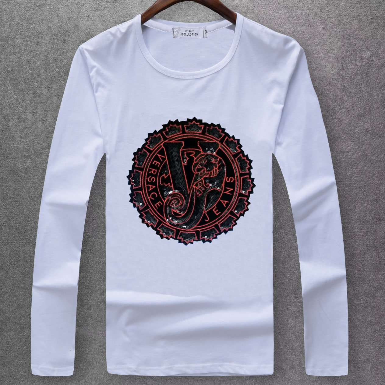 Image of Boys & Men Versace Fashion Casual Top Sweater Pullover