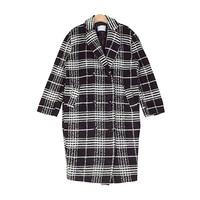 Formal Check Long Coat