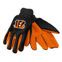 Cincinnati Bengals  Official NFL 2015 Ulitity Gloves - Colored Palm