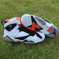 Air Jordan 7 Hot Lava GS AJ7 Women Basketball Shoes