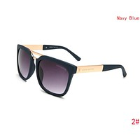 Louis Vuitton LV Trending Women Men Stylish Summer Sun Shades Eyeglasses Glasses Sunglasses 2#/Navy Blue I-ZXJ