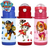 Genuine Paw patrol Cartoon 304 Stainless Steel Vacuum Cup puppy patrol Straight Cup Thermal Water Bottle Vacuum 350ML kids toy