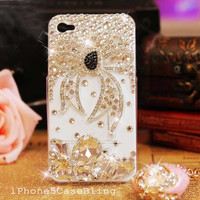 iPhone 4 Case, iPhone 4s case, iPhone 5 Case, Bling iPhone 4 case, Cute iphone 4 case, iphone 5 bling case, iPhone 4 case bow, case iphone 4