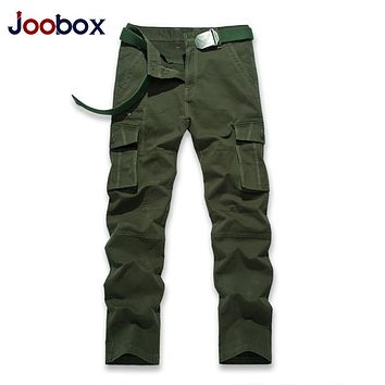 JOOBOX 2017 Autumn Winter Quick Dry Men Pants Working  Military Active Multifunction Trousers Pockets Mens Casual Cargo Pants