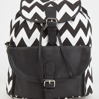Chevron 2 In 1 Backpack Black One Size For Women 25123710001