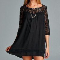 Bella Romance Lace Tunic Dress
