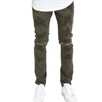 CRYSP Andre Pants In Olive