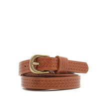 Etched Faux Leather Belt | Forever 21 - 2000205131