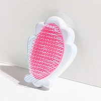 Skinnydip Shell Hair Brush | Urban Outfitters