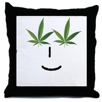 Pot Head Emote Throw Pillow> The Pot Head Emote> 420 Gear Stop
