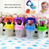 Funny pacifiers silcone baby pacifier food feeder feeding nipple dummy fruits avent nibbler soother bottle clip chain bpa free