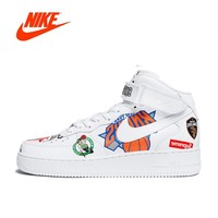 Original New Arrival Authentic Nike Air Force Supreme NBA AF1 Men Skateboarding Shoes Sport Outdoor Sneakers Good Quality