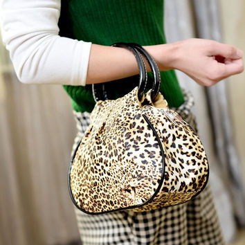 Korean Stylish Leopard Bags Mini Purse [6048251521]