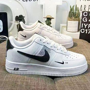 NIKE Air Force 1 Popular Women Men Sports Running Shoes Sneakers