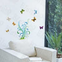 Precious Butterflies - Wall Decals Stickers Appliques Home Decor