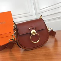 Ready Stock Chloe Women's Leather Inclined Shoulder Bag #2326
