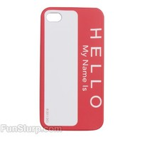 Hello My Name is iPhone Case | FunSlurp.com