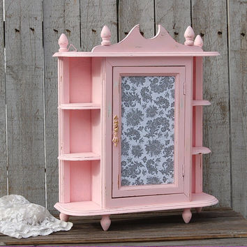 Shabby chic wall cabinet